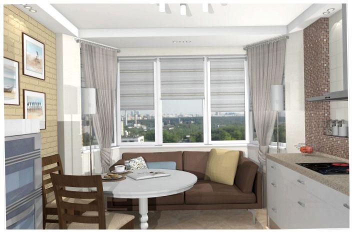 Дизайн квартиры п44т: интерьер однокомнатных, двухкомнатных,.